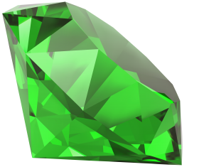 Diamond Emerald PNG