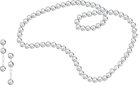 Diamond Necklace And Earrings PNG
