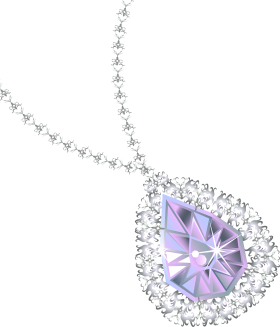 Diamond Necklace PNG