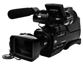 Digital Video Camera PNG