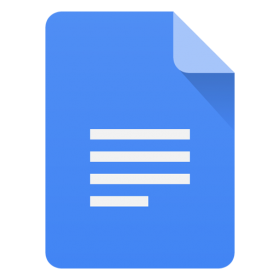 Docs Icon Android Lollipop PNG