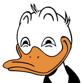 Donald Duck Rape Face PNG