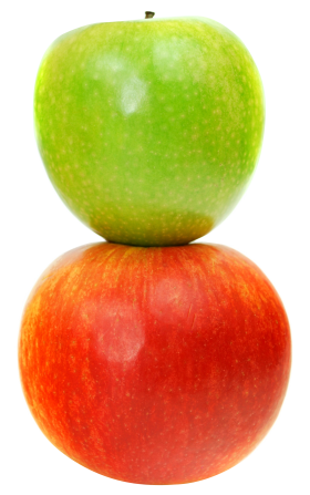 Double Apple PNG