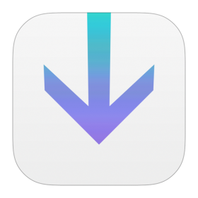 Downloads Icon iOS 7 PNG