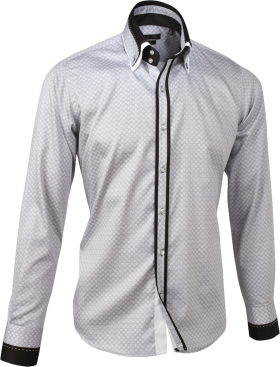 Dress Shirt Detachable collar PNG