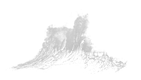 Dynamic splash water drops PNG