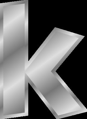 Effect Letter K PNG
