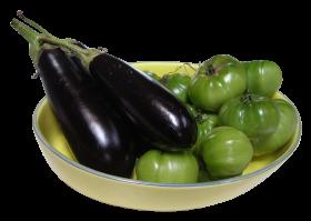 Eggplant Tomato PNG