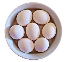 Eggs In Bowl PNG