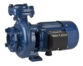 Electric Water Pump Blue Motor PNG