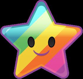 Emoji Blitz Star PNG