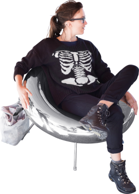 Fancy Polished Chair PNG