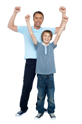 Father And Son PNG