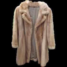 Faux Fur Coat PNG