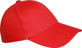 Featuddrced Face  Cotton  Red Cap PNG