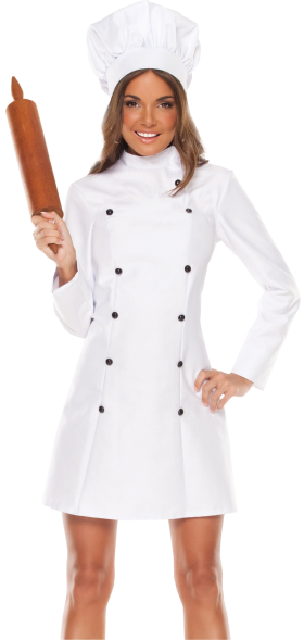 Female Chef PNG