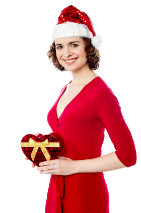 Female Santa Claus PNG