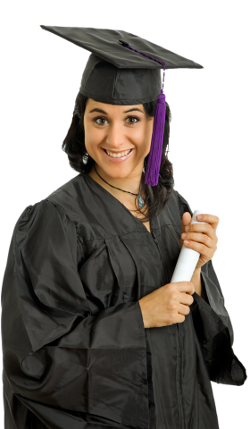 Female Student PNG