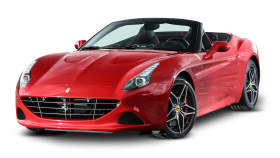 Ferrari California Red Car PNG