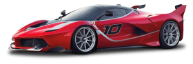 Ferrari FXX K Race Car PNG