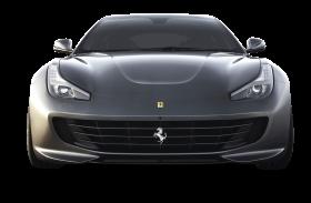Ferrari GTC4 Lusso Front Gray Car PNG
