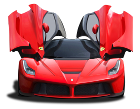 Ferrari Laferrari Doors Open PNG