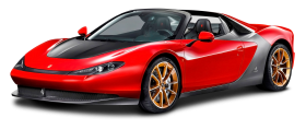 Ferrari Sergio Red Car PNG
