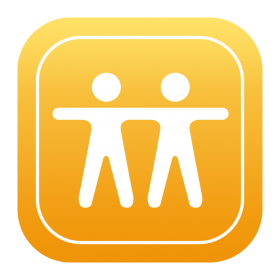 Find Friends Icon PNG
