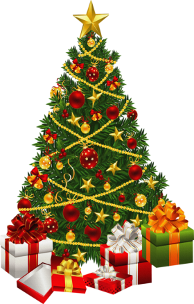Presents Christmas Tree PNG