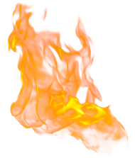Flaming Fire PNG