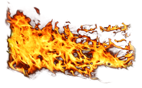 Side Fire Flame PNG