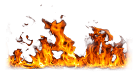 Fire Flame Burning Ground PNG