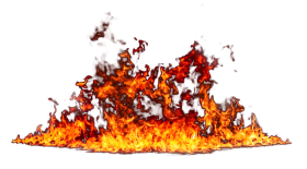Flaming Fire Blaze PNG