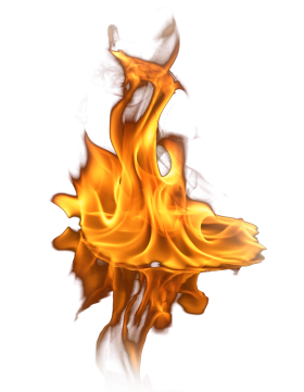 Fire on Ground PNG