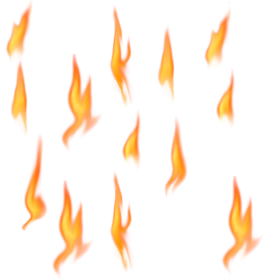 Flame Collection PNG