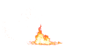 Bonfire Flame PNG