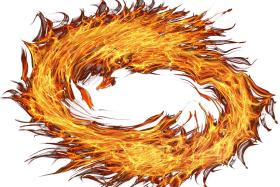 Fire Circle PNG