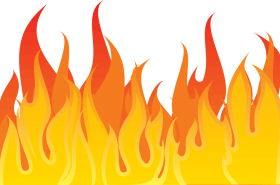 Flame Illustration PNG