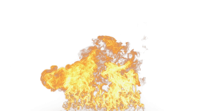 Flaming Hot Fire PNG