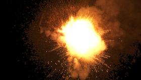 Sparkling Explosion PNG