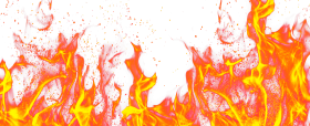 Hot Flame Fire Ground PNG