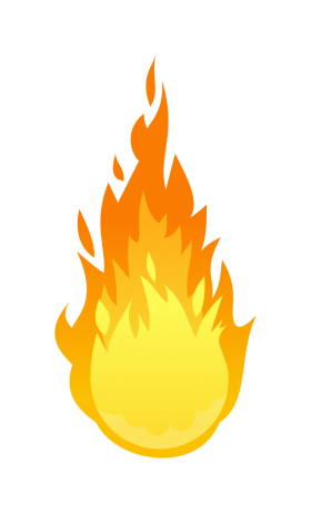 Flaming Fire Flame PNG