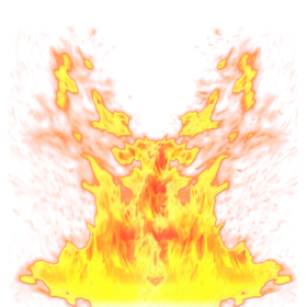 Burning Fire Flame  PNG