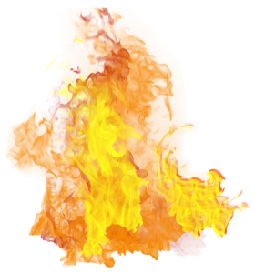 Hot Flame  PNG