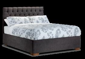 Floral Modern Bed PNG