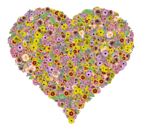 Flower Heart PNG
