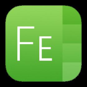 FontExplorer X Icon iOS 7 PNG