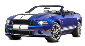 Ford Shelby Mustang GT500 Convertible Car PNG