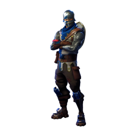 Fortnite Blue Squire PNG