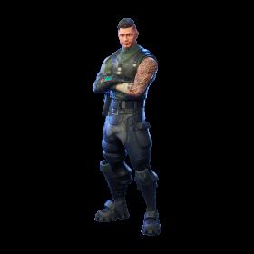 Fortnite Squad Leader PNG